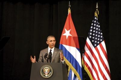 菲德尔· 卡斯特罗致信奥巴马:不要美帝送礼