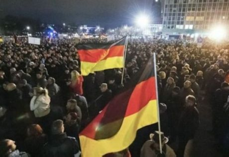 德国爆发反移民游行示威