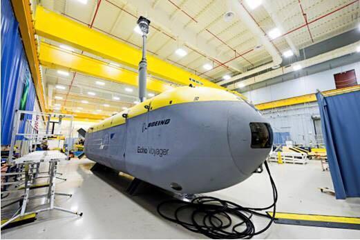 无人水下航行器Echo Voyager 波音官网 图