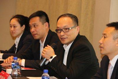 中广核太阳能开发有限公司总经理李晓学致辞