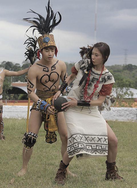 花姐团穿越玛雅文明