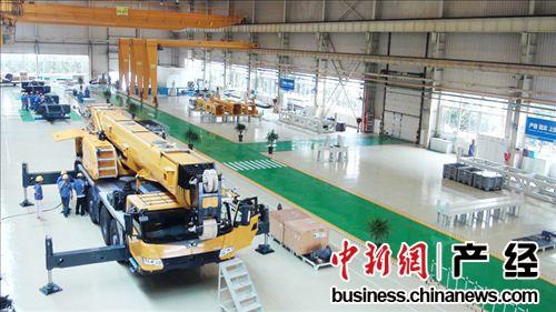 徐工起重机械绿色制造工程中心