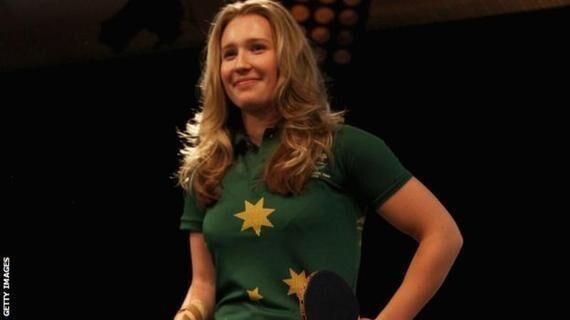 励志!澳大利亚独臂乒乓女将获里约奥运会资格