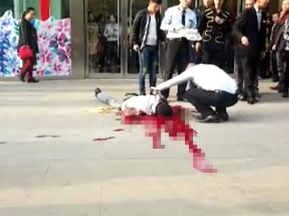 西安街头发生凶杀案