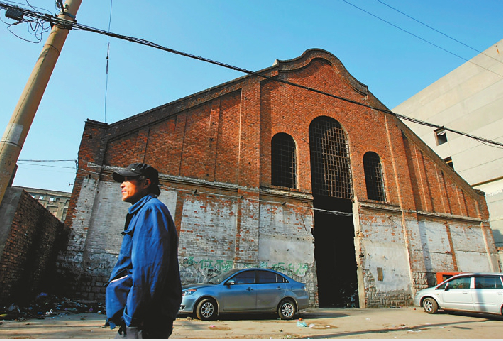 D17文化创意产业园现貌 本版照片均由记者黄中明摄