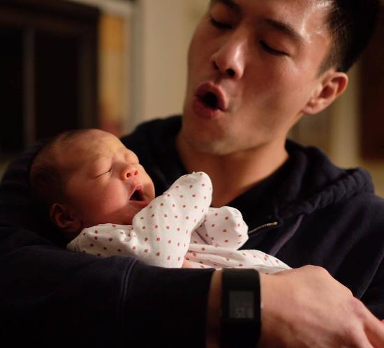 安志杰和女儿