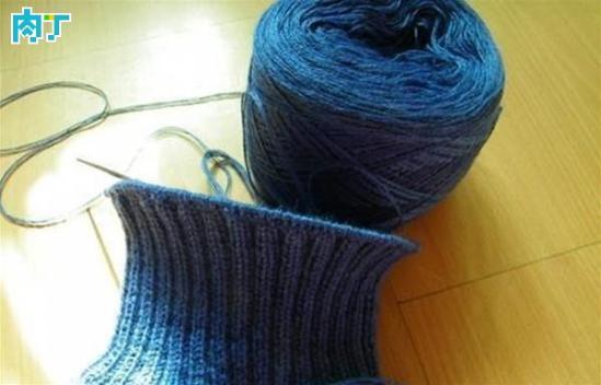 棒针毛衣编织基础 教你从上往下织毛衣教程(组图)