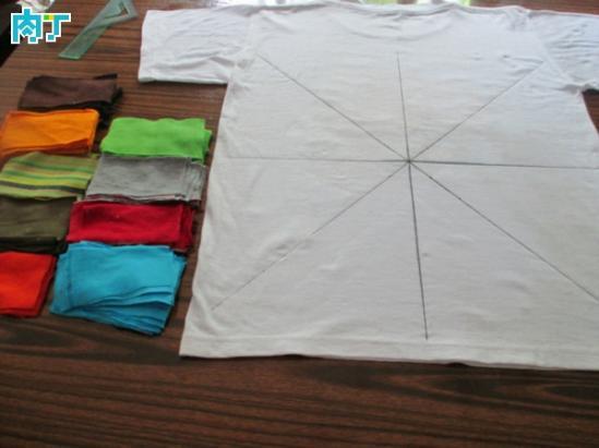 改编方形坐垫拼布的做法DIY图解教程,旧衣服做的拼布 ...