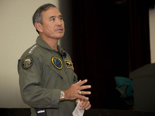 美军太平洋战区最高司令哈里・哈里斯