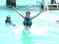 《花样姐姐第二季片花》未播 金晨变泳装海豚骑手 玩冲浪秀美艳爆表