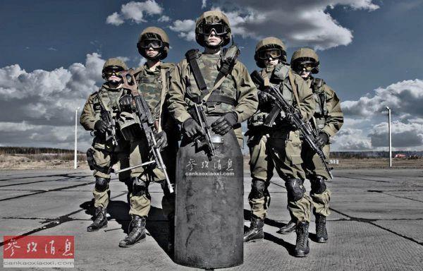 俄内卫部队特种兵。