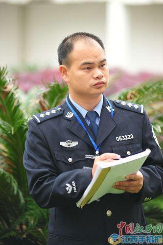 江西省余江县看守所现任副教导员黄水标