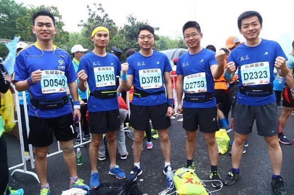2016年4月10日,武汉首届马拉松(简称汉马)正式开跑。