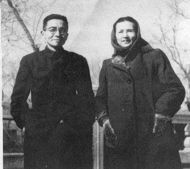梁思成,林徽因夫妇图片