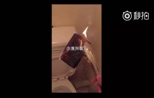 悉尼大学华裔教员公开辱华 辱骂留学生并焚烧中国护照