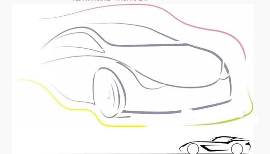 夸张汽车表情简笔画分享展示
