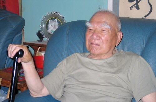 2006年6月,老红军刘泽沛同志。