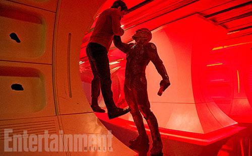《星际迷航3》重要剧照流出,外星大反派首曝光