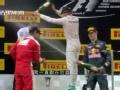 F1中国站激情开赛 罗斯伯格夺冠军范冰冰助阵