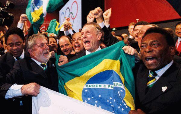 巴西庆祝申请成功