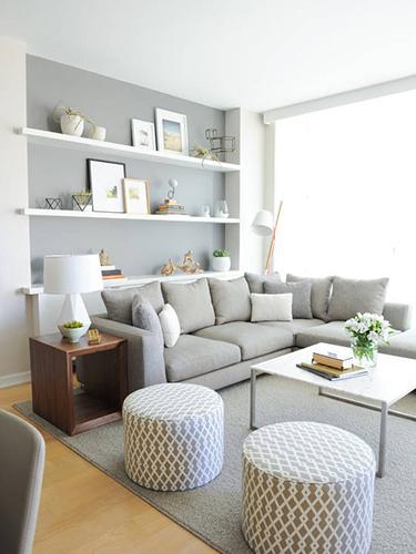 20图清爽小户型 极简北欧风格公寓图片