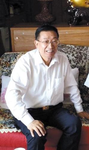 甘肃省卫计委主任刘维忠。图片来自刘维忠微博