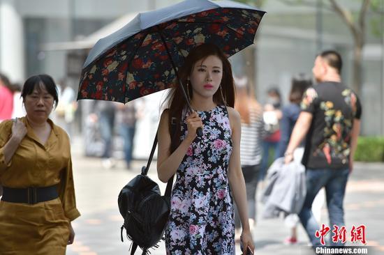 北京最高气温打破30℃ 创本年以来新高