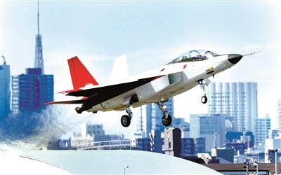 """新华社电(记者 华义)日本首款国产隐形战机""""心神""""验证机X-2于22日上午首次试飞。日本防卫大臣中谷元说,这对日本未来开发战机具有非常重要的意义。"""