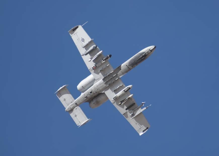 资料图:美国空军A-10C雷电攻击机