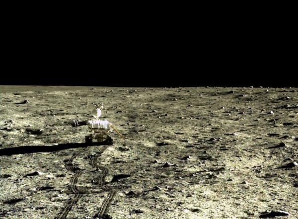 嫦娥三�拍出最明晰月面相片 全世界免�M同享(�D)