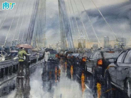 创意水粉画手绘作品欣赏 作者Martijn van Dam 组图