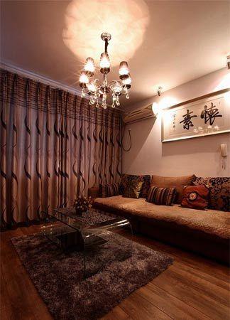 跃层住房装修效果图 现代简约设计高清图片