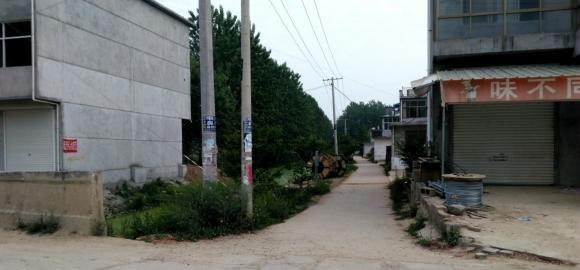 沿着图中的这条小路进去,第四排就是徐增志家的犯罪现场。