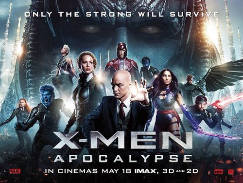 《X战警:天启》英国版正式海报