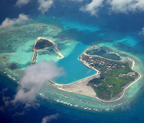 南沙群岛最新填海囹�a_这并非中国首次在南沙和西沙群岛填海造地,却是最近的一次.