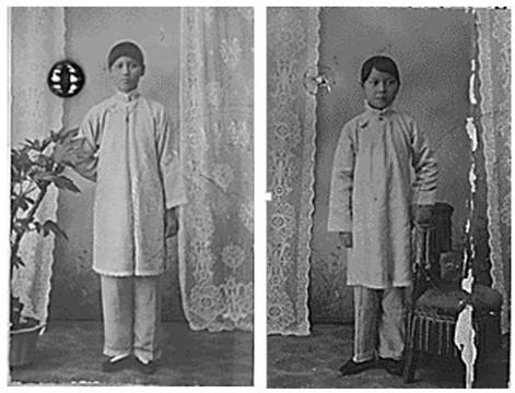 1907年的宋庆龄和宋美龄-宋时娟 寻找三十岁之前的宋美龄