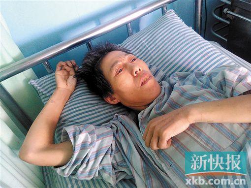男子独行快速路被撞,住院两个月仍未找抵家眷