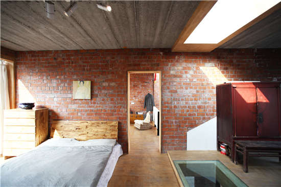 王宅二楼室内卧室