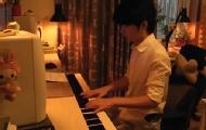 钢琴版《假如爱有天意》李健