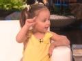 《艾伦秀第13季片花》第S13E144期 四岁女神童再次光临 现场上课完美诠释人体器官