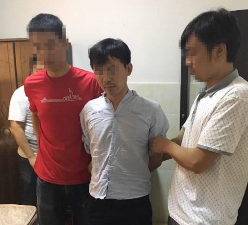 电信诈骗嫌疑人文龙坚被警方控制。