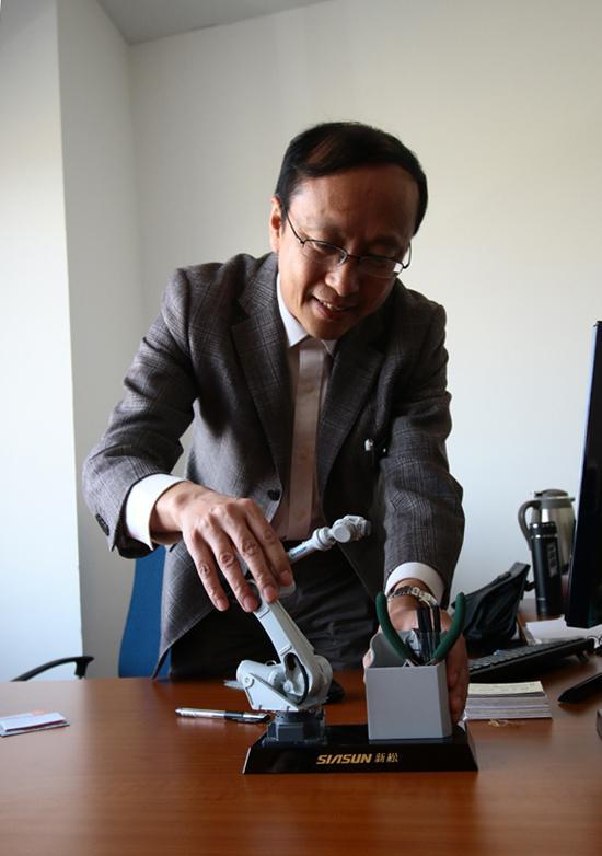 【图】新松机器人徐方:技术创新叫响中国智造