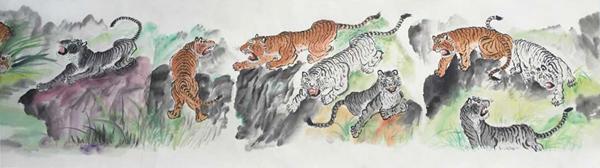 北京平谷美协会员,中国美术家交流协会会员,北京潞河书画艺术研究会图片