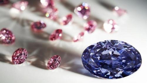 澳大利亚西部的矿区开出一枚罕见的紫色钻石。