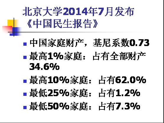 中国贫富差距观察:李强:中国的贫富差距到底有多大?