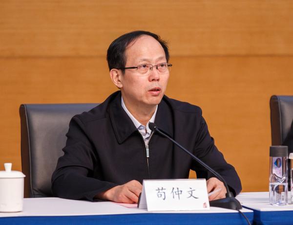北京市委常委、市委教工委书记苟仲文。 视觉中国 资料