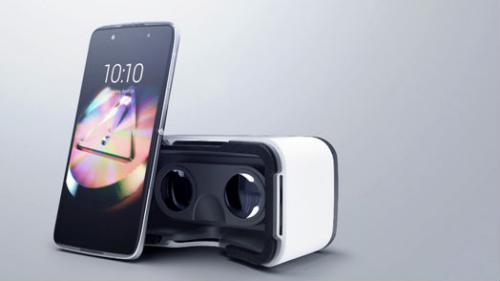 旗舰新品阿尔卡特IDOL4系列及VR眼镜