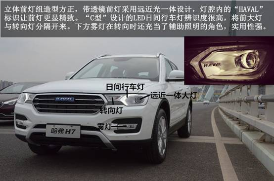 【建国哈弗新车实拍】有里有面儿气质型SUV——哈弗H7
