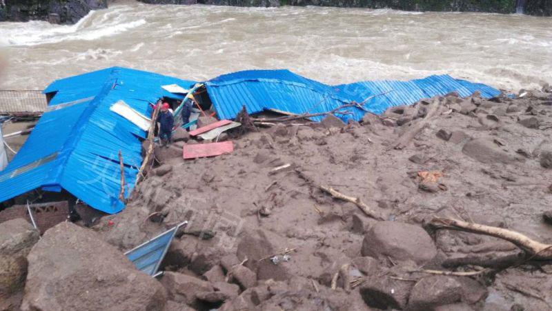 福建泰宁县一在建工地发作山体滑坡 开端预计35人失联
