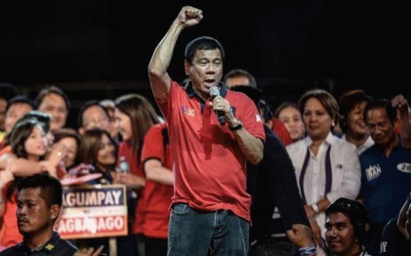 杜特蒂现年71岁,曾7次被选为菲律宾沿海城市达沃市市长 来源:法新社